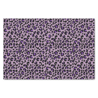 Nahtlose lila Jaguar-wilde Katzen-Tierdruck Seidenpapier