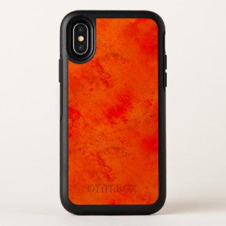 Nahtloser Beschaffenheits-Hintergrund abstrakt OtterBox Symmetry iPhone X Hülle