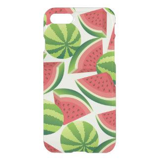 Nahtloser Hintergrund der Wassermelonescheibe iPhone 8/7 Hülle