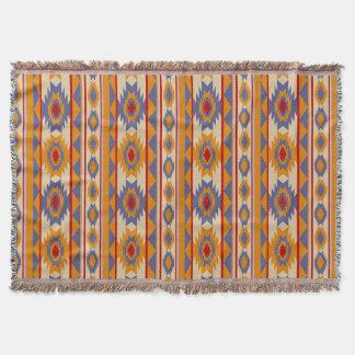 nahtloses Muster des ethnischen Navajos Decke