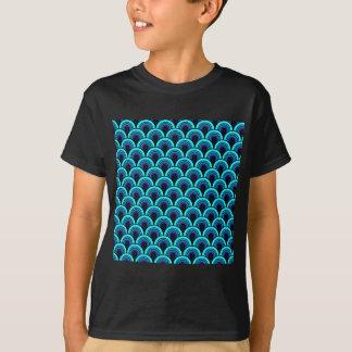 Nahtloses retro Muster des T - Shirt
