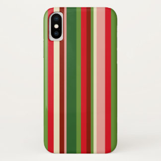 Nahtloses Weihnachtsgeometrisches Muster iPhone X Hülle