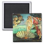 Naissance de Botticelli de Vénus Aimants Pour Réfrigérateur