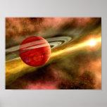 Naissance de Saturn Posters