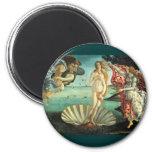 Naissance de Vénus, 1485 Magnets Pour Réfrigérateur