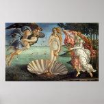 Naissance de Vénus par Botticelli, art de Renaissa Posters