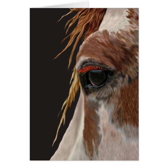Nakota Pferd Mitteilungskarte