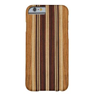 Nalu Lua Imitat Koa Holz-Surfbrett Barely There iPhone 6 Hülle