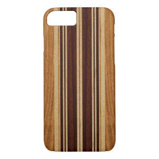 Nalu Lua Imitat Koa Holz-Surfbrett iPhone 8/7 Hülle