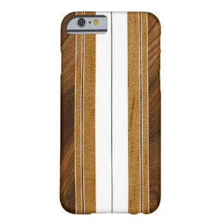 Nalu M.U.A. Imitat Koa Holz-Surfbrett Barely There iPhone 6 Hülle
