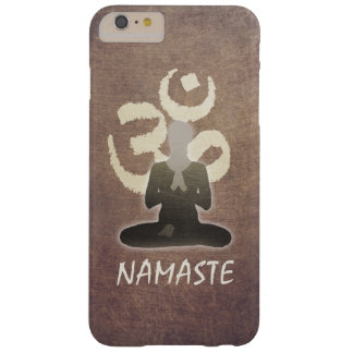 Namaste Vintage OM Om-Vermittlung u. Yoga Barely There iPhone 6 Plus Hülle