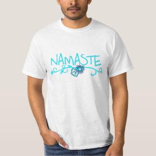Namaste Yoga-T-Shirt für Männer T-Shirt