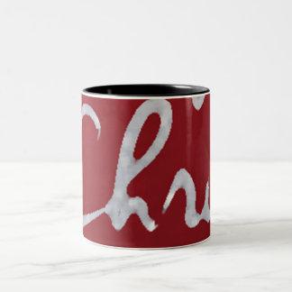 Name_CHRIS_mug Zweifarbige Tasse