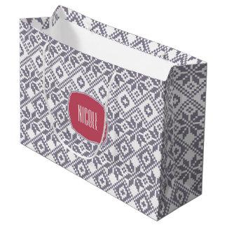 Name-Weihnachtsgeschenk-Taschen Große Geschenktüte