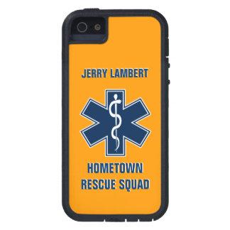 Namensschablone des Sanitäter-EMT iPhone 5 Case