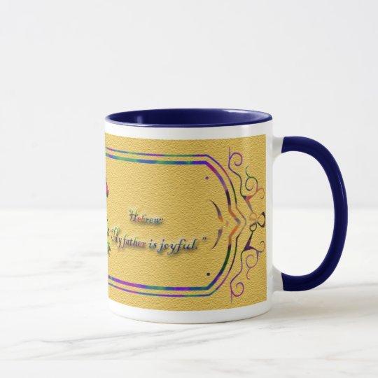 Namensursprungs-u. Bedeutungs-Tassen Tasse