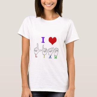 NAMENSzeichen LIAM ASL FINGERSPELLED T-Shirt