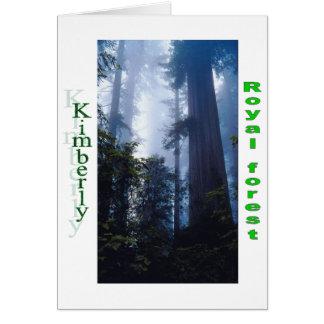 Names&Meanings - Kimberly Karte