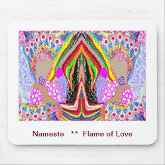 NAMESTE - Flamme der Liebe-Dekorationen Mousepads