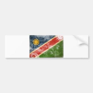Namibia-Flagge Autoaufkleber