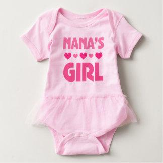 Nanas Mädchenbabybärnenkelinmädchen Baby Strampler