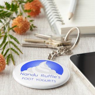 Nandu Rüsche-Schlüsselkette Schlüsselanhänger