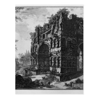 Nannte allgemein den Tempel von Janus durch Postkarte