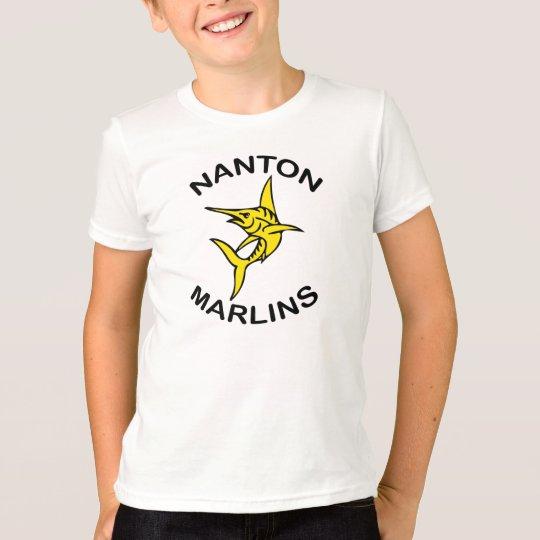 Nanton Speerfisch-Jungen-T-Shirt T-Shirt