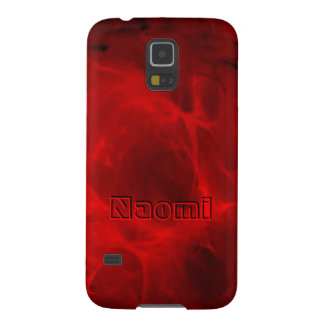 Naomi roter Veining Samsung Kasten Galaxie S5 Samsung Galaxy S5 Cover