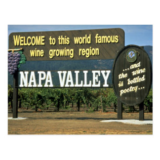 Napa Valley, Kalifornien, USA Postkarte