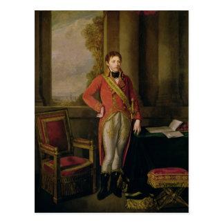 Napoleon Bonaparte als zuerst Konsul, 1799-1805 Postkarte