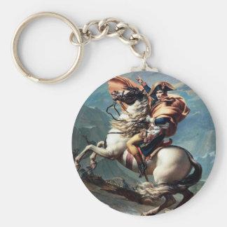 Napoléon croisant les Alpes Keychain