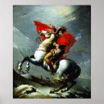 Napoléon croisant les Alpes (qualité parfaite) Affiches