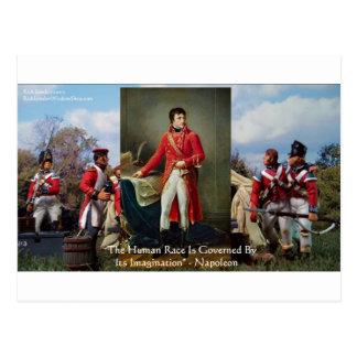 """Napoleon """"Fantasie ordnet"""" Postkarte"""