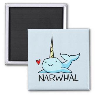 Narwhal Quadratischer Magnet