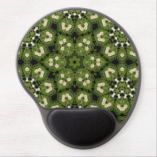 Narzisse geometrisches Mit Blumenmousepad Gel Mousepad