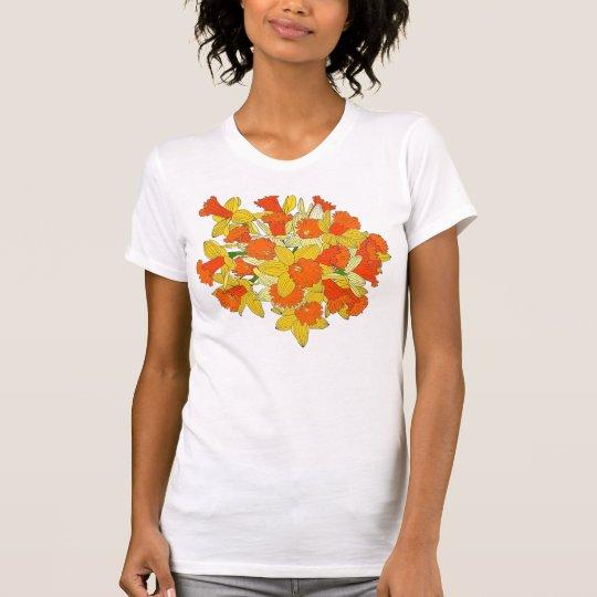 Narzissen-Blumen-Blumenstrauß T-Shirt