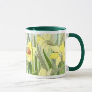 Narzissen-Feld-Tasse Tasse