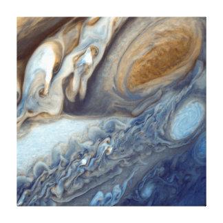 NASAs Jupiter Wirbel Leinwanddruck