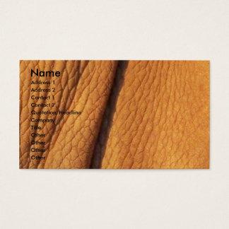Nashorn-Haut Visitenkarte