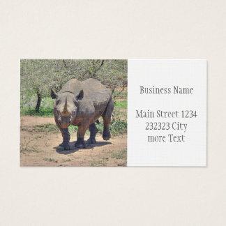 Nashorn Visitenkarte