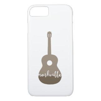 Nashville-Gitarre iPhone Fall iPhone 8/7 Hülle