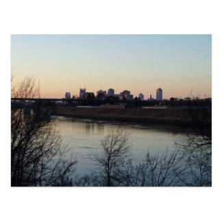 Nashville im Abstand Postkarte