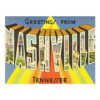 Nashville-Postkarte