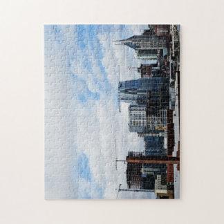 Nashville-Skyline-Puzzlespiel