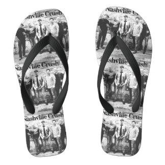Nashville-Zerstampfung drehen Reinfälle um Flip Flops