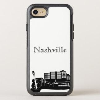 Nashvilleskyline-Silhouette-Kasten OtterBox Symmetry iPhone 8/7 Hülle