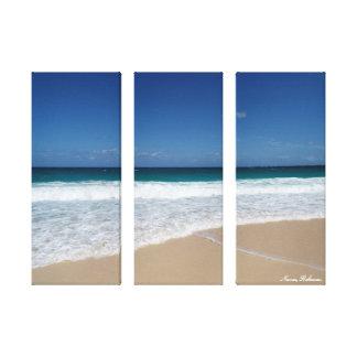 Nassau-Strand Gespannter Galeriedruck