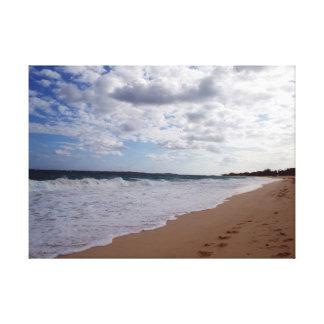 Nassau-Strand Leinwanddruck