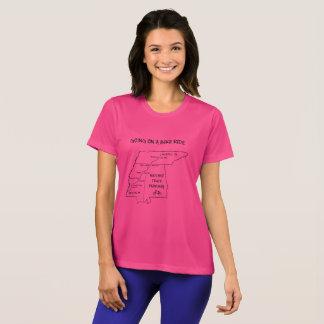 Natchez Spurn-Weg-Karten-T - Shirt